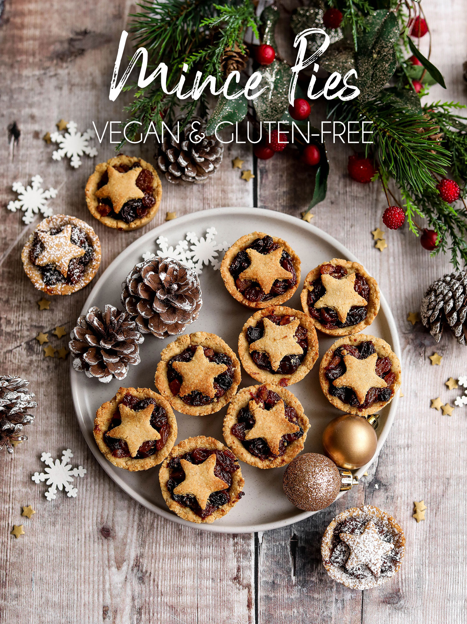 Vegan Gluten-free Mince Pies
