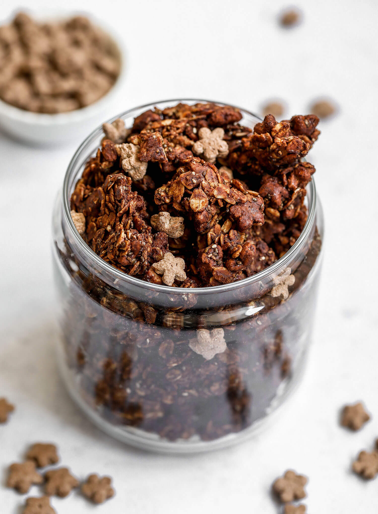 Chocolate Stars Granola