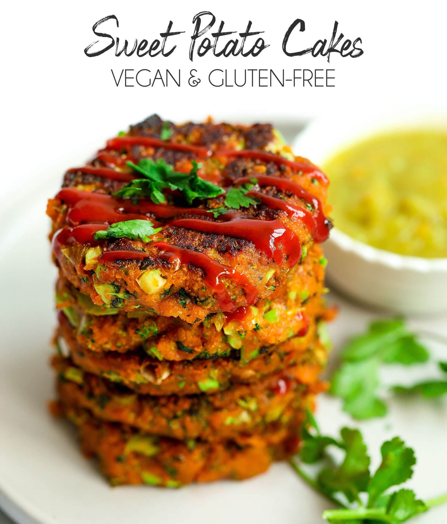 Vegan Sweet Potato Cakes