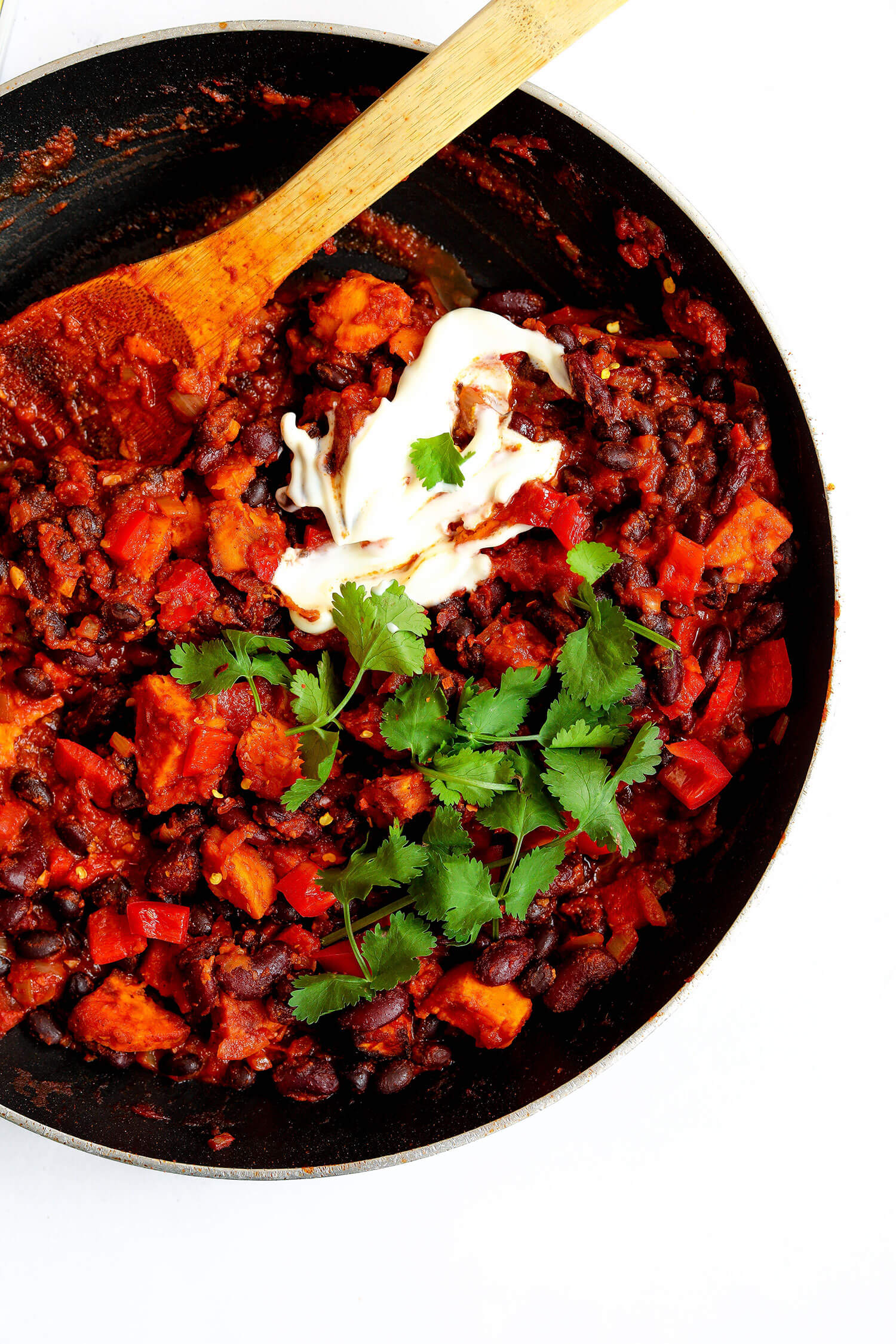 American Sweet Potato Bean Chilli