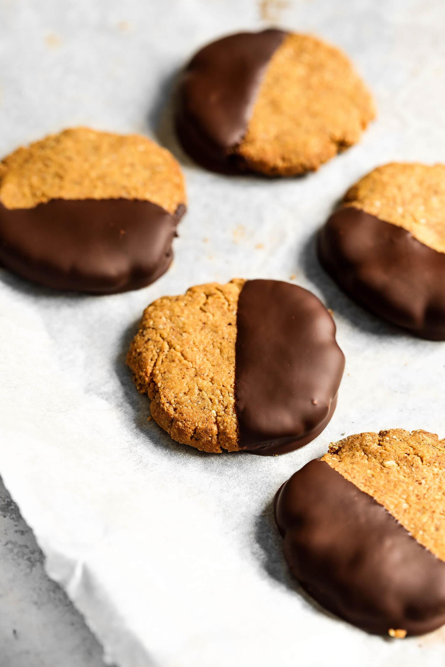 Cookies veganos de 4 ingredientes - UK Health Blog 7