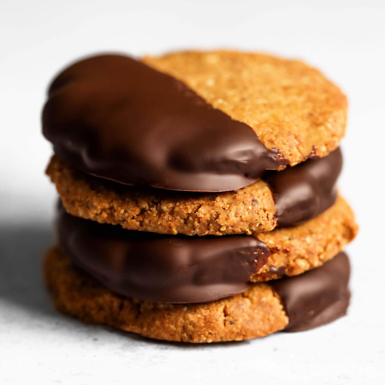 Cookies veganos de 4 ingredientes - UK Health Blog 5