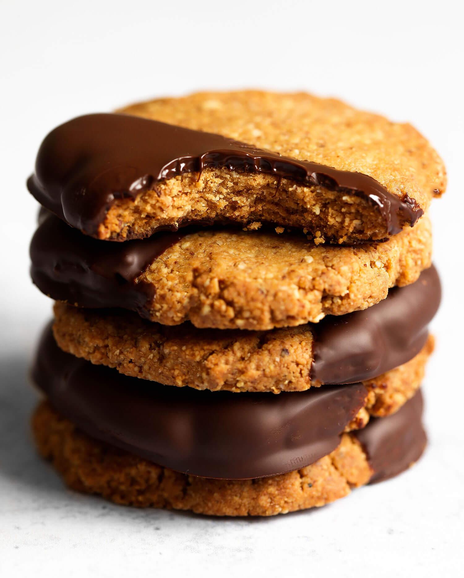 4-Ingredient Vegan Cookies