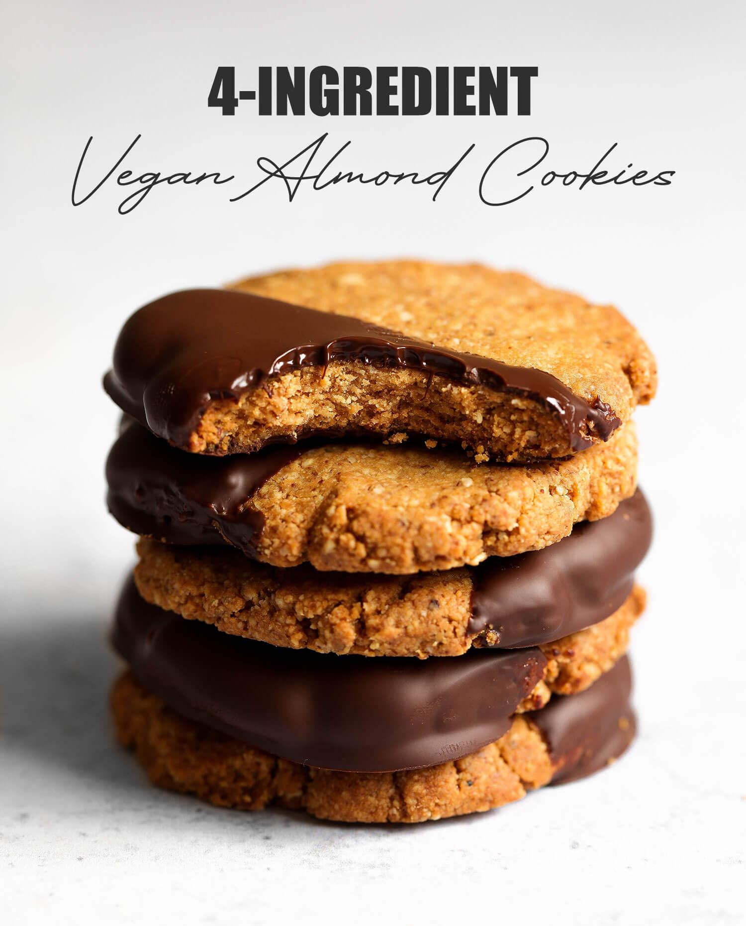 Cookies veganos de 4 ingredientes - UK Health Blog 2