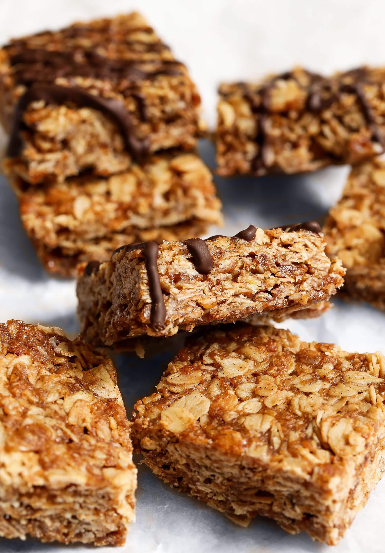 Flapjacks veganos de 4 ingredientes - UK Health Blog 4