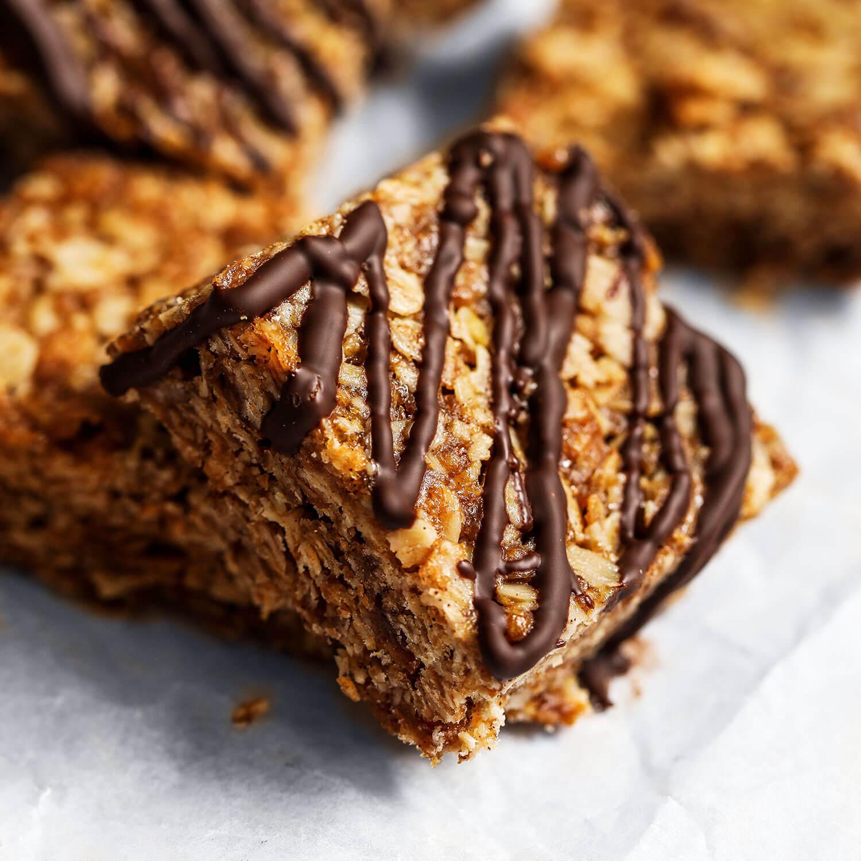 Flapjacks veganos de 4 ingredientes - UK Health Blog 5