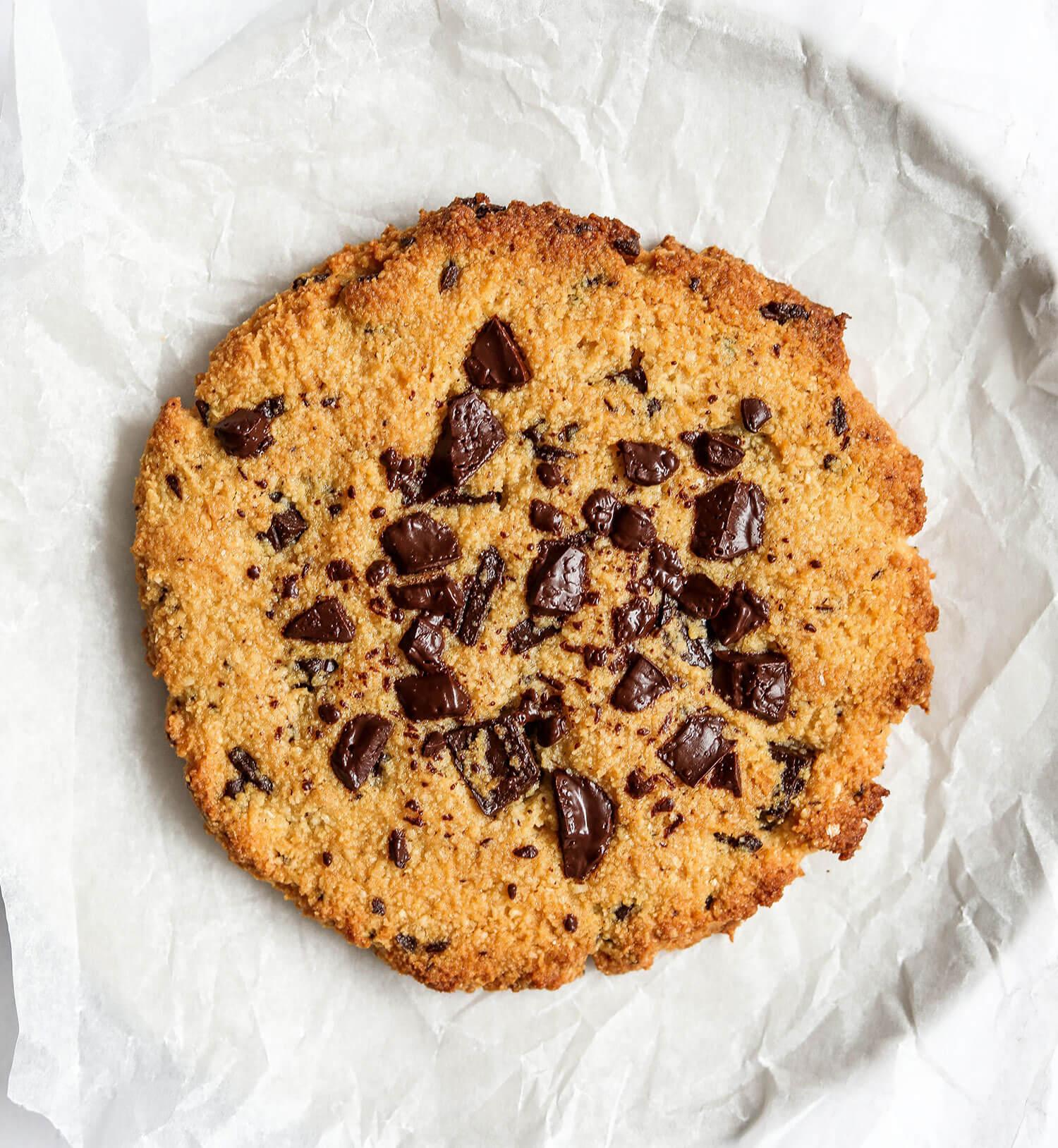 Cookie de chocolate com porção única - UK Health Blog 3
