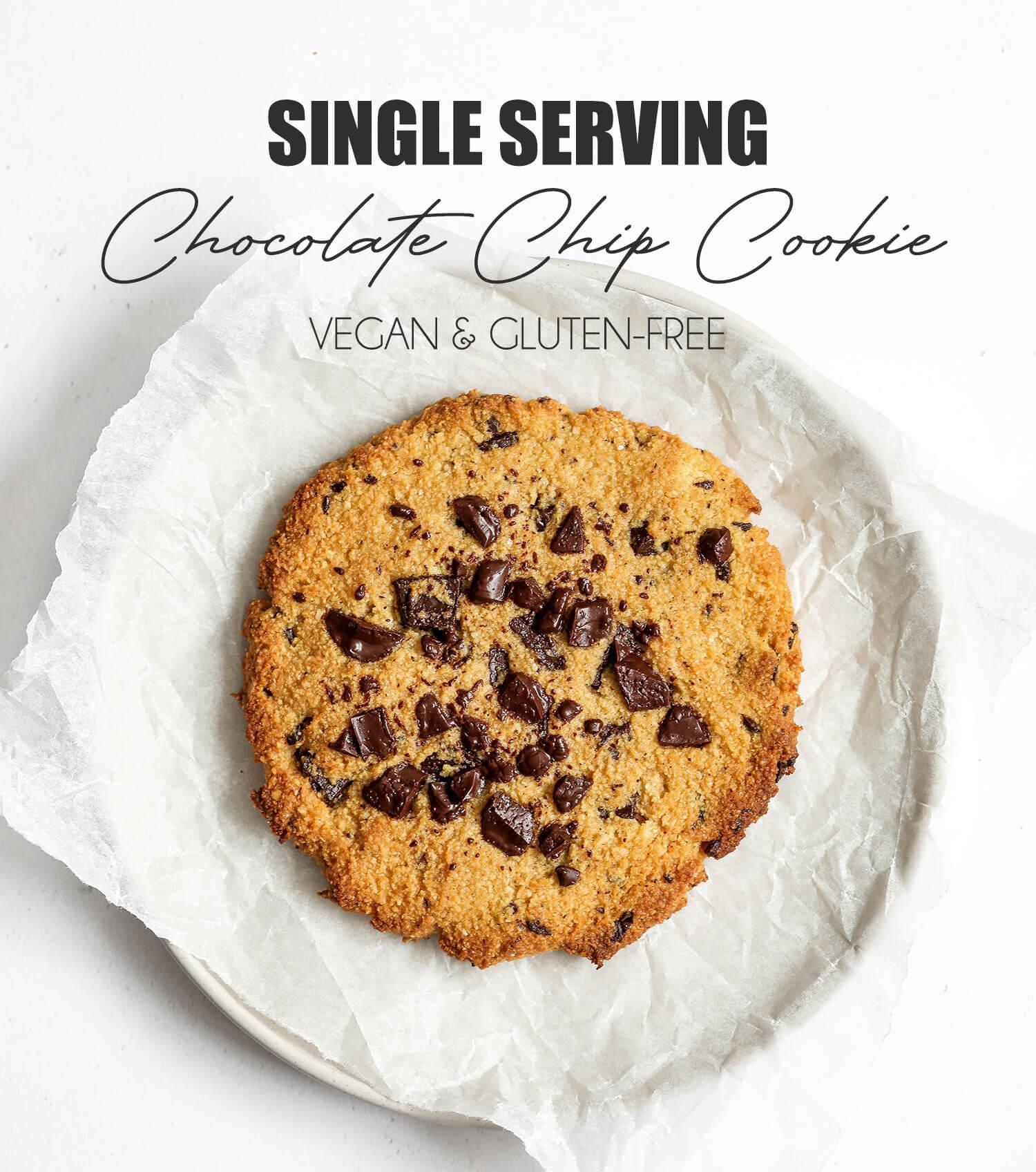 Cookie de chocolate com porção única - UK Health Blog 2