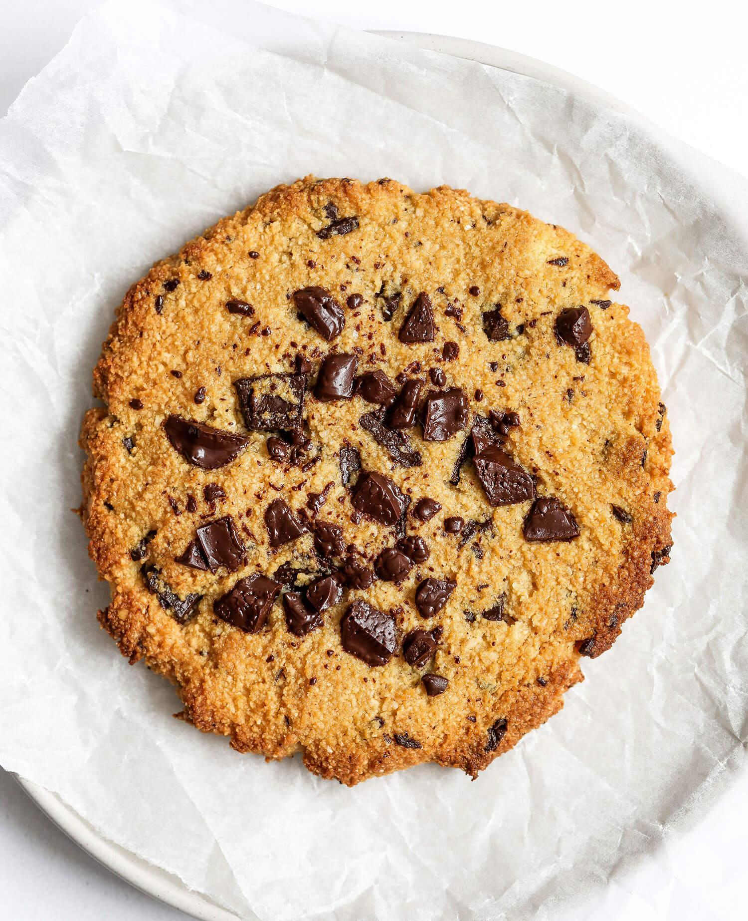 Cookie de chocolate com porção única - UK Health Blog 5