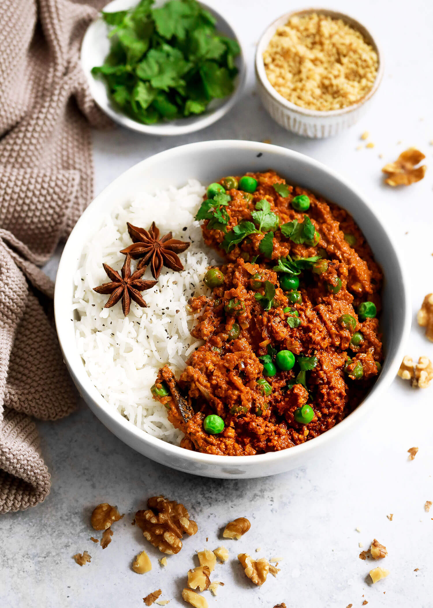 California Walnut Keema