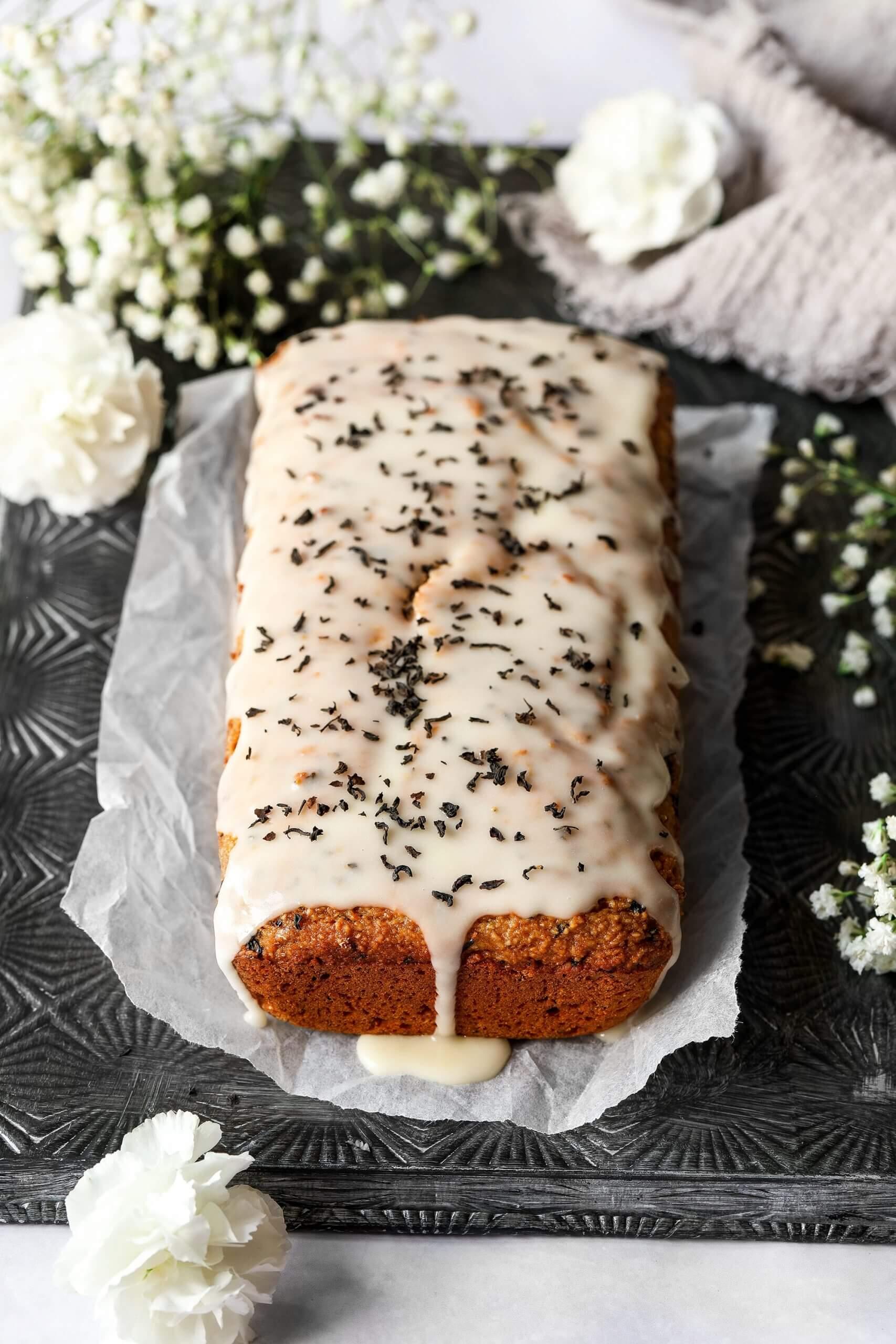 Vegan Earl Grey Cake